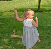 Swinging Stock Photo