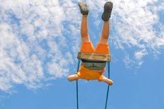 Swinging to the sky Royalty Free Stock Photography