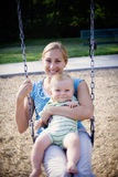 On the Swings Stock Image
