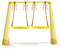 Swings Royalty Free Stock Photos