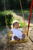 On the swings Royalty Free Stock Photography