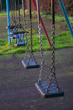 Swings. Childrens swings Royalty Free Stock Photo