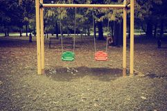 swings Royaltyfri Foto