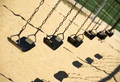 Swings Royalty Free Stock Images