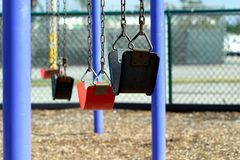 Swings in the City 2 Stock Photos