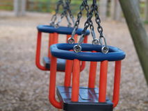Swings close up Royalty Free Stock Image