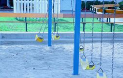 Swings park Royalty Free Stock Photo