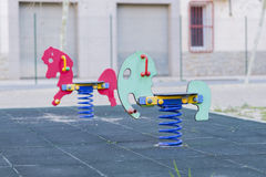 Swings. Royalty Free Stock Images