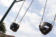 swings två Arkivbild