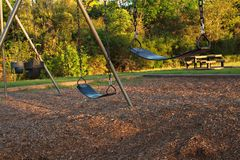 The Swingset Royalty Free Stock Images