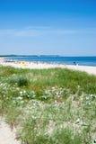 Swinoujscie,波罗的海,波兰 免版税库存照片
