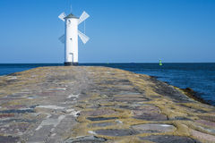 Swinoujscie, town's landmark Stock Photography