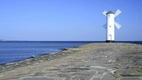 Swinoujscie, town's landmark the Stawa Mlyny stock footage