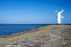 Swinoujscie, town's landmark the Stawa Mlyny Stock Photo