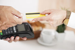Swiping Credit Card Stock Images