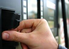 Swiping della carta di credito Immagine Stock Libera da Diritti