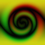 Swirl. A 3d swirl background Royalty Free Illustration