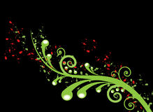 swirl Royaltyfria Bilder