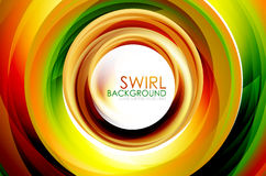Swirl abstract background Royalty Free Stock Images