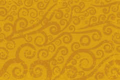 Swirl antique background. Vector background of antique swirl texture. Dust in separate layer Stock Image