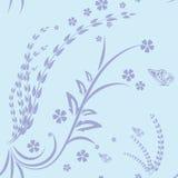Swirl. This Artwork just seamless swirls pattern Royalty Free Stock Photography