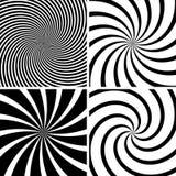 Swirl Background. Black Illustration, Vector Stock Images