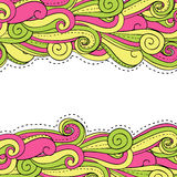 Swirl background. Bright background with colored spirals Stock Illustration