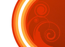 Swirl background Stock Image
