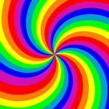 Swirl background. A abstract colorful swirl background Stock Photography