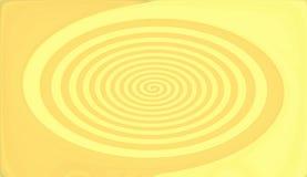 Swirl Background. Yellow swirl Royalty Free Illustration