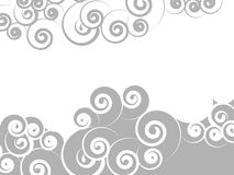 Swirl background. Abstract background of swirl curls Stock Photography
