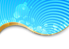 Swirl background - abstract vector illustration