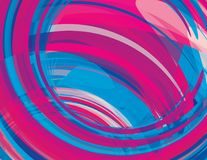 Swirl background. Vector graphic pattern Royalty Free Stock Photo
