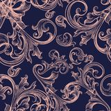 Swirl background vintage styled ornament. Swirl background with vintage styled ornament Royalty Free Stock Image