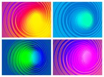 Swirl backgrounds Stock Images