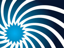 Swirl in blue Stock Photo
