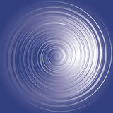 Swirl of blue energy Royalty Free Stock Photo