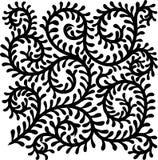 Swirl branch ornamental Royalty Free Stock Image