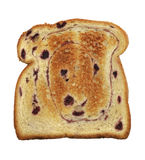 Swirl Bread Toast With Blueberries Royalty Free Stock Photo