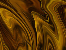 Swirl brown background. Elegance curve gradient. Raster smooth b Stock Photo