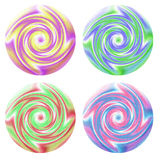 Swirl buttons Royalty Free Stock Photos