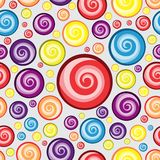 Swirl circle Background Pattern design  Royalty Free Stock Photo