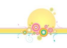 Swirl & circles Stock Images