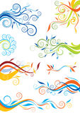Swirl color design Royalty Free Stock Photos