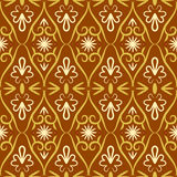 Swirl color retro seamless pattern Stock Images
