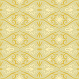 Swirl color retro seamless pattern Royalty Free Stock Image