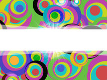 Swirl Color Shows Text Space And Artistic Stock Image
