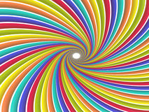 Swirl of colored lines Royalty Free Stock Photos