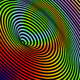 Swirl. A colorful spiral swirl background stock illustration