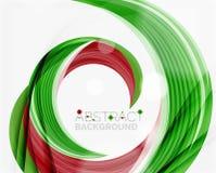 Swirl company logo design Royalty Free Stock Images